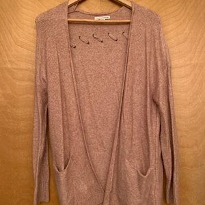 american eagle detail back sweater NWOT